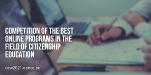 Competition of the best online programs in the field of citizenship education